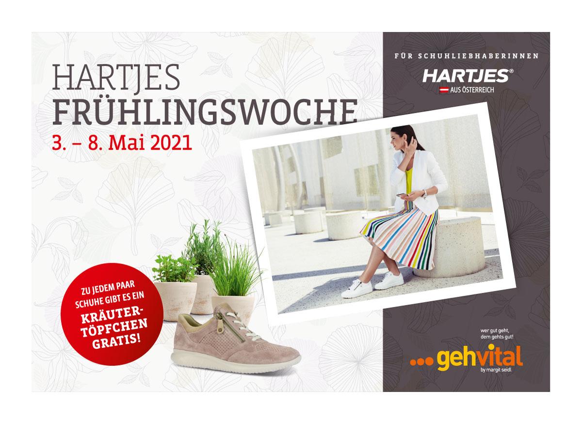 Hartjes Frühlingswoche 3. bis 8. Mai